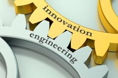 Cogs showing Engineering and Innovation