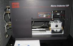 Image of nano indenter in Open University laboratory